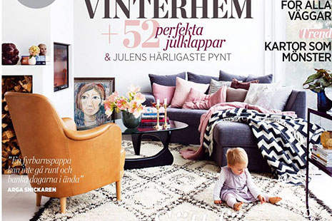 Armchair Samsas on the Plaza magazine cover.