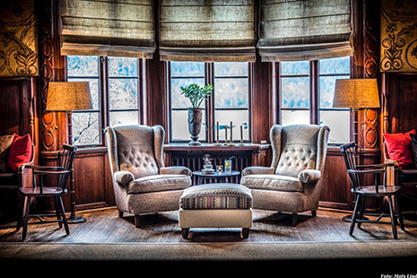 Carl Malmstens Häggbom armchairs at YearegYearden Hotel.